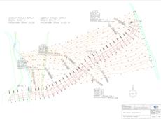 Komplexní pozemkové úpravy Budišov návrh svodného a sběrného průlehu