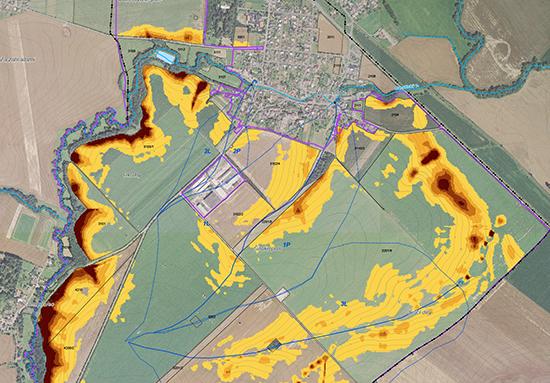 Komplexní pozemkové úpravy: plán společných zařízení