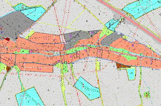 Územní plán obce: koordinační výkres