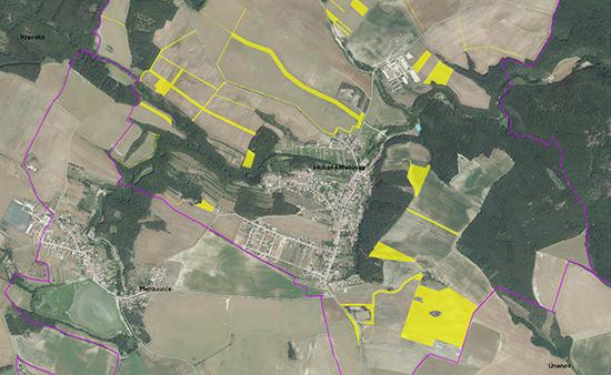 Zpracování územně analytických podkladů: identifikace nevyužitých pozemků v intravilánu