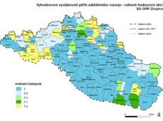 Vyhodnocení vyváženosti pilířů udržitelnosti v SO ORP Znojmo