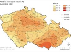 Predikce teplot vzduchu 2010–2039
