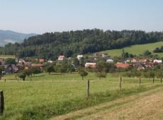 Dochovaná struktura sadů a zahrad v Zubří